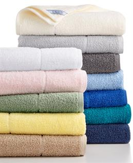 Cotton and Polyester Bath Towels