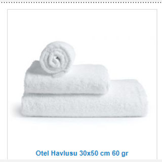 White Hydrophil Towels