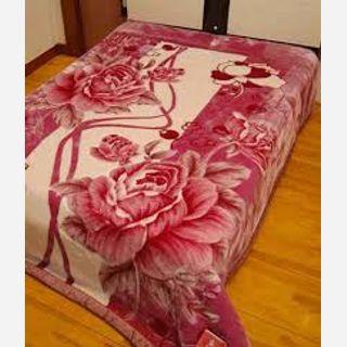 Printed Floral Blanket