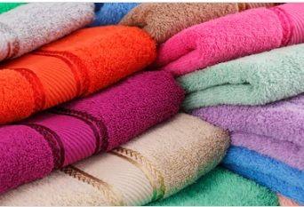 Waffle Weave Bath Towels