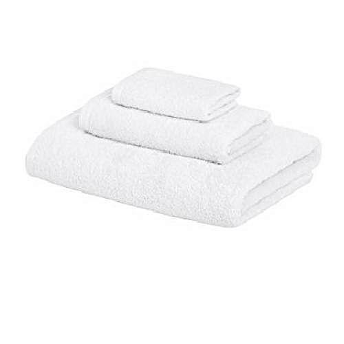 White Leisure Cotton Hand Towel