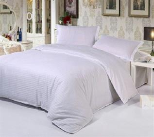 Striped Double Bed Sheet