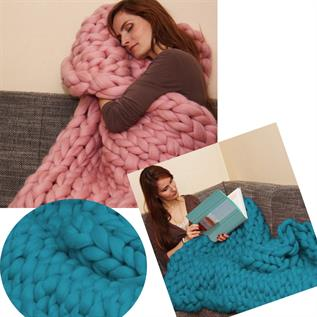 Knitting Throw Blankets