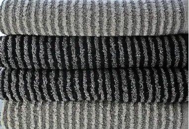 Terry Stripe Bath Towels