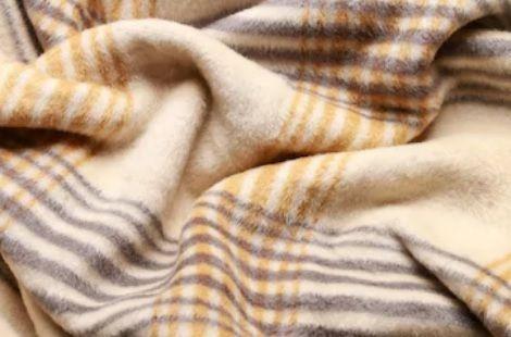 Camel Colour Plain Blankets