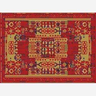 Persian Pattern Area Rug