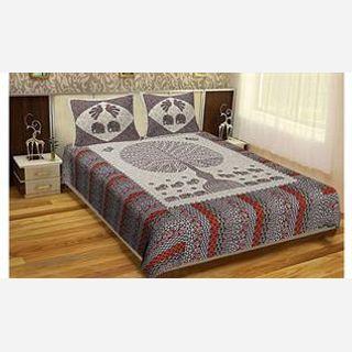Jaipuri Printed Cotton Bedsheets