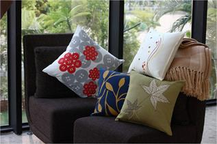 Cushion and Cushions Covers-Bedroom Furnishing