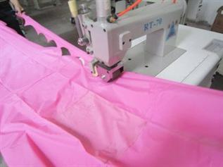 Ultrasonic nonwoven fabric