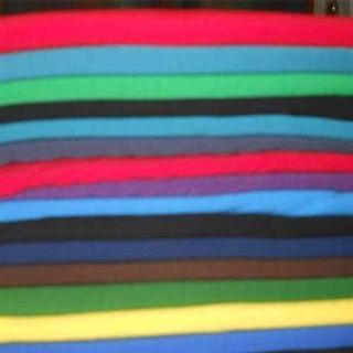 140, 180, 160 gsm, 100% Cotton Sinker, Dyed, Weft Knit