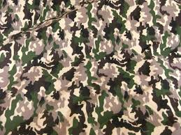 170-250 gsm, 65% Polyester / 35% Cotton Camouflage Printed, Dyed, Plain