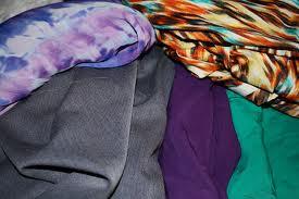 80-90 gsm, 100% Rayon Printed Challis, Dyed, Plain