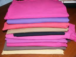 For summer season garment(180 - 220gsm) & For winter garment(300gsm), 100% Polyester, Raw white & Dyed, Plain