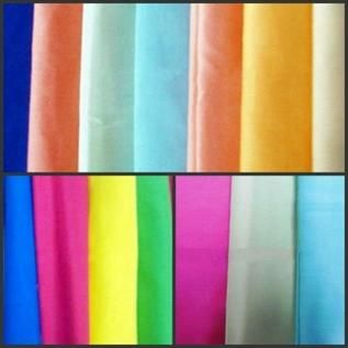 100-400 GSM, 40% Polyester / 60% Cotton, 50% Polyester / 50% Cotton , Dyed & White Bleach, Plain & Twill