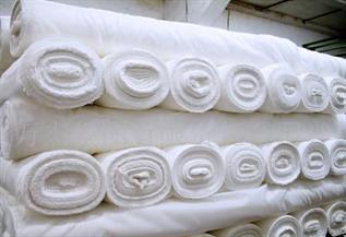 -, 100% Cotton, Greige, Warp knit