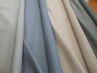 180 to 380grms, 60% Polyester / 40% Cotton, Greige & Dyed, Dobby, Plain