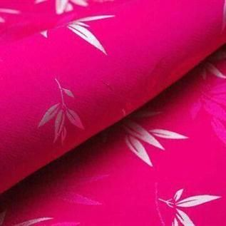 185+ gsm, 65% Silk / 35% Spandex, Greige & Dyed, Plain