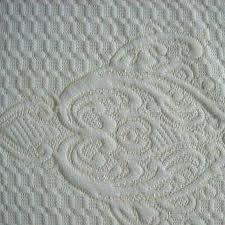 120-180 gsm, 100% Polyester Jacquard, Greige, Plain