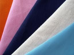 245 g/m2 (5%), 65% Polyester / 35% Cotton, Greige & Dyed, Twill