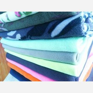 190 cm, 100% Polyester Polar Fleece, Dyed & Greige, Weft Knit