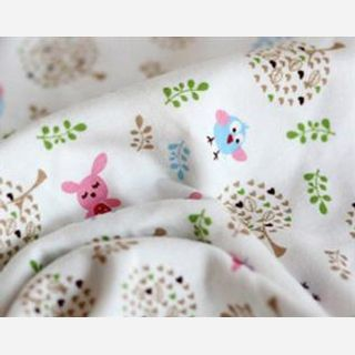 160 gsm, 100% Cotton Printed Knitted, Greige, Weft Knit