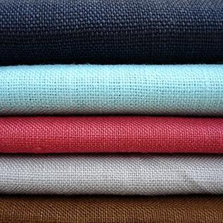 100-140 GSM, 55% Ramie, 45% Polyester, Dyed, Plain