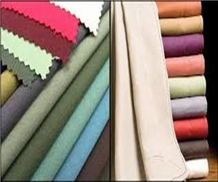 100-250 GSM, 100% Cotton, Dyed, Plain