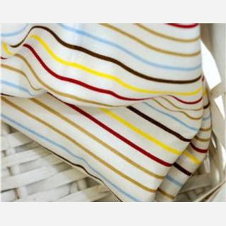 200-220 gsm, 100% Cotton, Dyed,  Weft Knit