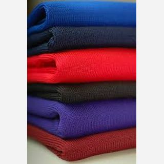 160 gsm, 100% Polyester Jersey , Dyed, Weft Knit