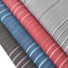 120-180 gsm, 100% Cotton , Dyed, Plain, Stripe & Checks