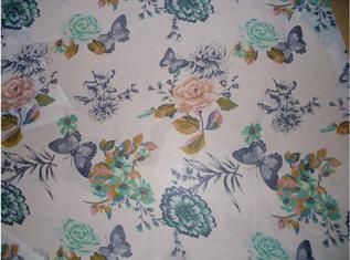 75-95 gsm, 100% Polyester, Solids & Prints, Plain