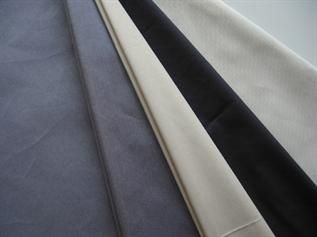 110-200 GSM, 60% Polyester / 40% Cotton, 65% Polyester / 35% Cotton, Dyed, Plain and Twill