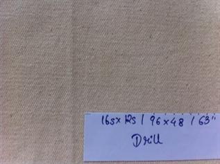 100 - 800, 100% cotton, Greige, Twill , drills