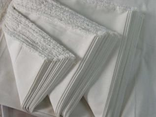 50 to 100 gsm, 100% Spun Polyester, Greige, Plain