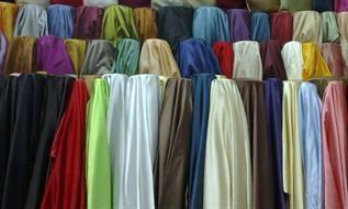 88gsm, 100% Polyester, Yarn dyed, Satin