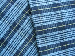 100 - 120 GSM, 100% Cotton, Yarn dyed, Plain
