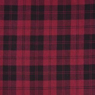 180-225 gsm, 100% Plaid Check Cotton, Yarn dyed, Weft Knit
