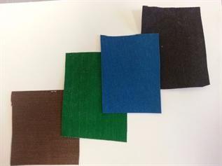 16/500, 100% cotton woven, Dyed, Plain