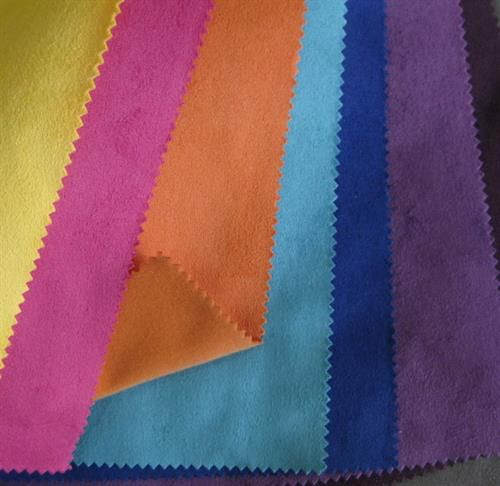 Suede Fabric-Knitted