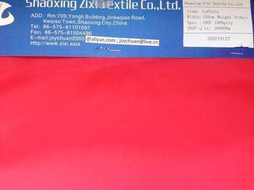 Taffeta Fabric-Woven Fabric