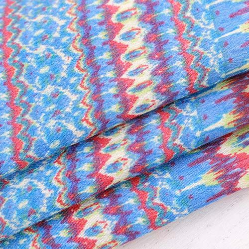 Border Print Rayon Fabric