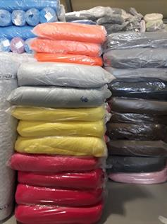Surplus Stock Cotton Knitted Fabric