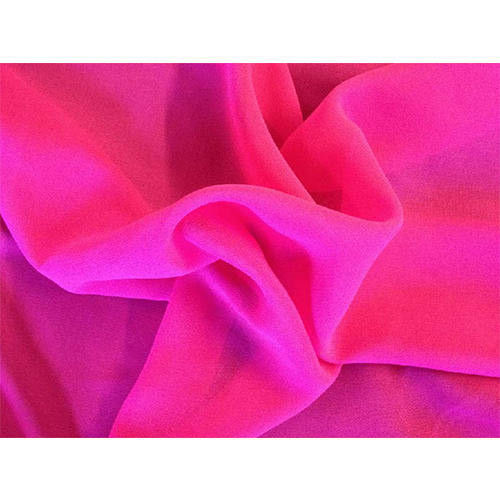 Georgette Plain Dyed Fabric