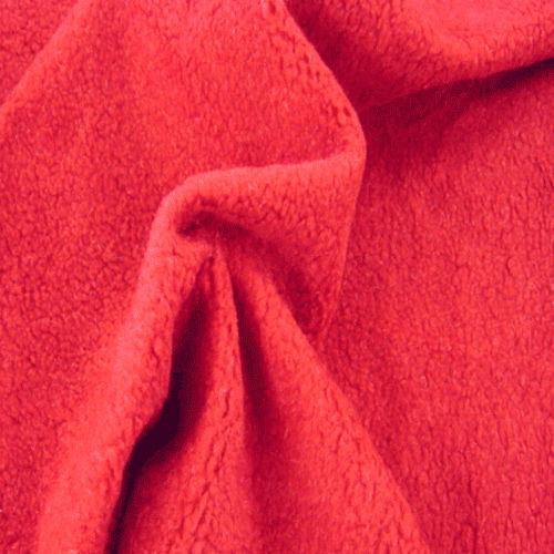 Cotton / Woolen Fleece Fabric