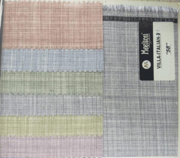 Vila Italian Cotton Shirting Fabric