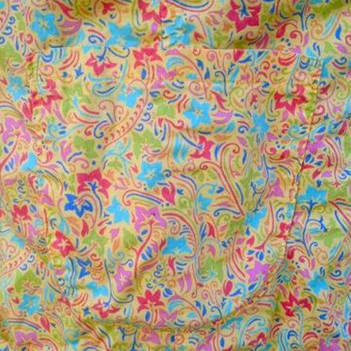 Silk Printed Fabric
