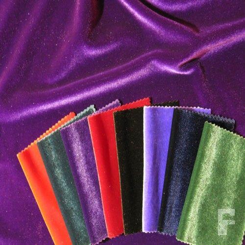 4 way Velvet Fabric