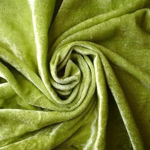 Dyed Velvet Fabric