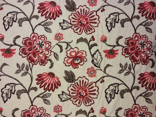 Embroidery Dyed Fabric