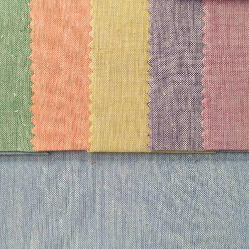Dyed Cotton Linen Fabric
